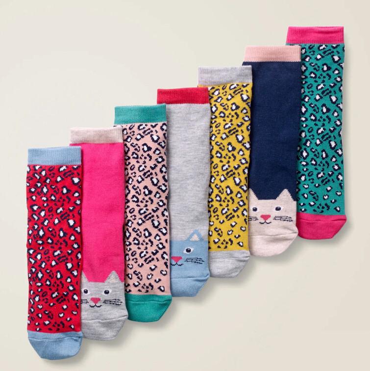 Boden 7 Pack Sock Box 七双装短袜 £15(约136元)