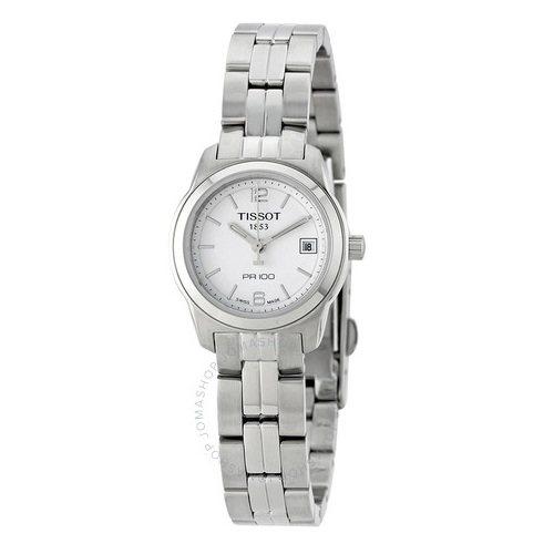 Tissot 天梭 PR100 系列 银色女士气质腕表 T049.210.11.017.00 .99(约664元)