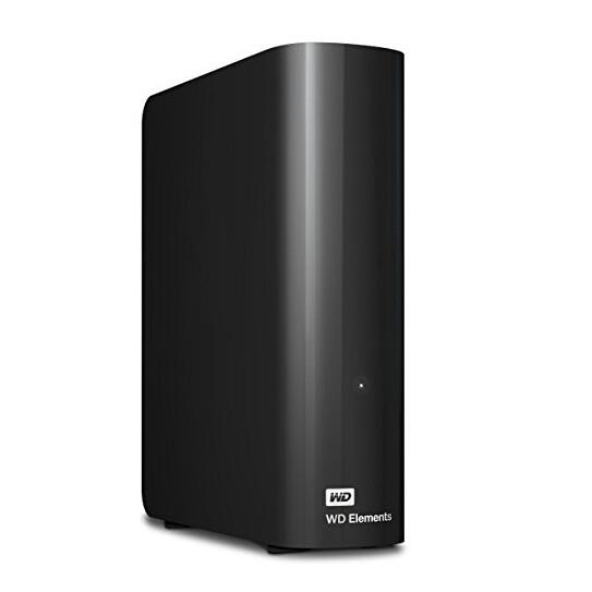 【中亚Prime会员】Western Digital 西部数据 Elements 3.5英寸便携移动硬盘 8TB 到手价972元