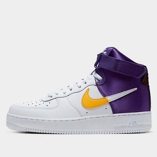 【限时高返 7.5%】Nike 耐克 Air Force 1 NBA 男子高帮板鞋 2色可选 0(约766元)