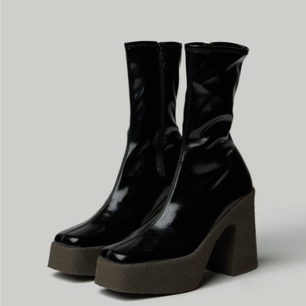 【Savi 力荐】STELLA MCCARTNEY 厚底高跟中靴 5(约5,028元)
