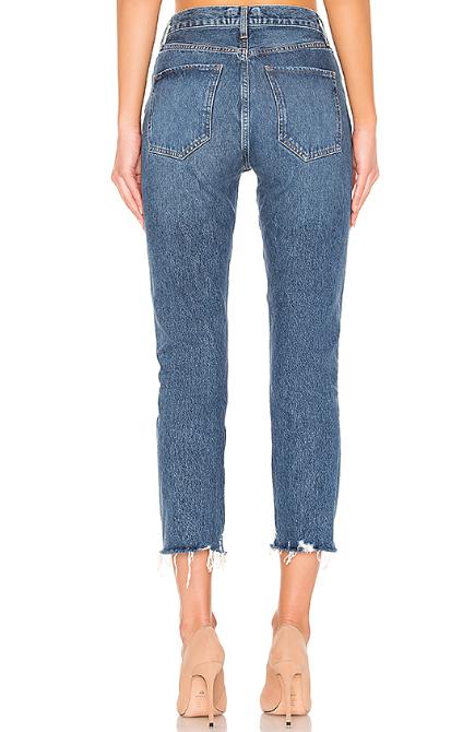 AGOLDE 直筒复古磨损裤脚牛仔裤 0.8(约838元)