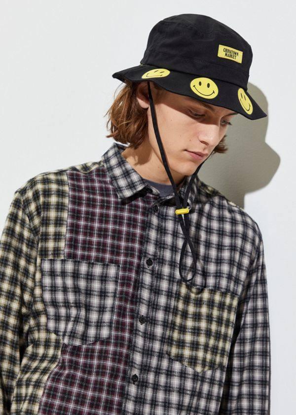 Chinatown Market X Smiley 联名 UO限定渔夫帽 (约270元)