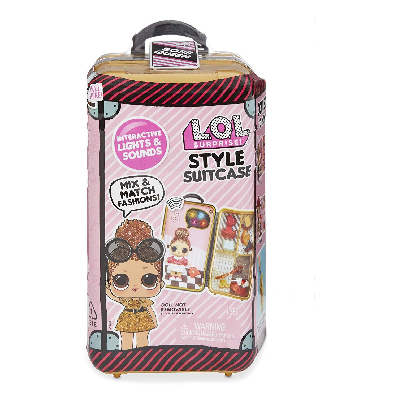 【中亚Prime会员】L.O.L. Surprise! 发声发光时尚行李箱惊喜娃娃玩具盲盒 到手价143元