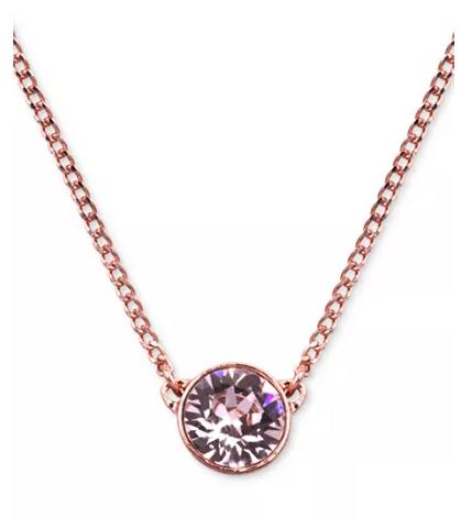 【三色】Givenchy 纪梵希闪亮单钻水晶项链 .6(约135元)