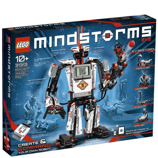 免邮!LEGO 乐高科技组 MINDSTORMS EV3第三代机器人 (31313) £199.99(约1,805元)