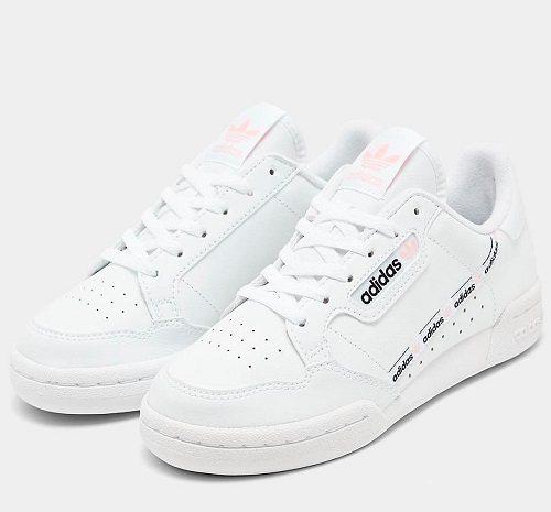 【额外5折】adidas Originals 三叶草 Continental 80 大童板鞋 .5(约156元)