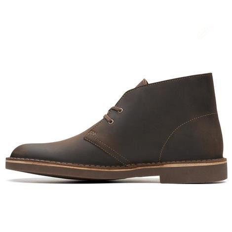 【额外7.5折】Clarks 其乐 Bushacre 2 沙漠真皮男靴 .96(约374元)