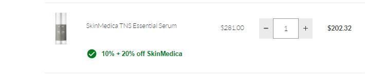 Skinstore:SkinMedica 斯美凯 高科技成分护肤 无门槛9折+额外8折