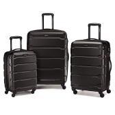 黑色好价!【中亚Prime会员】Samsonite 新秀丽 Omni PC 硬壳黑色行李箱拉杆箱3件套 20+24+28寸