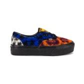 Vans Era 新款拼色豹纹图案滑板鞋