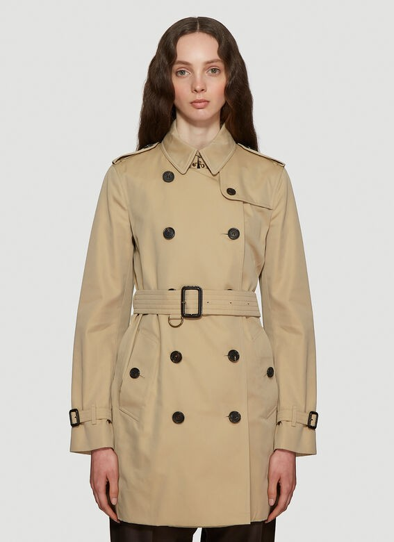 product image view 3  product image view 4  product image view 5   BURBERRY Kensington Heritage Trench Coat in Brown
