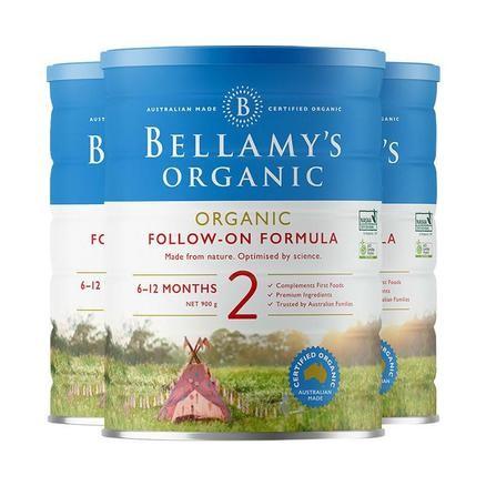 Bellamys 贝拉米婴幼儿有机奶粉
