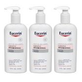 买三免一!【中亚Prime会员】Eucerin 优色林 温和保湿洁面乳 237ml*3瓶
