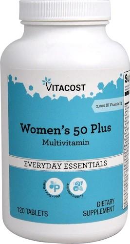 女性 50 Plus 复合维生素