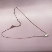 【三色】Givenchy 纪梵希闪亮单钻水晶项链