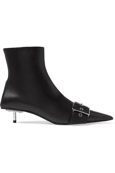 BALENCIAGABelt 皮革踝靴
