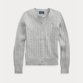 【双11】Ralph Lauren 拉夫劳伦 Cable-Knit Cotton Cardigan 7-16岁开衫