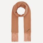 【3.6折】Acne Studios Logo 羊毛混纺围巾 £85.5